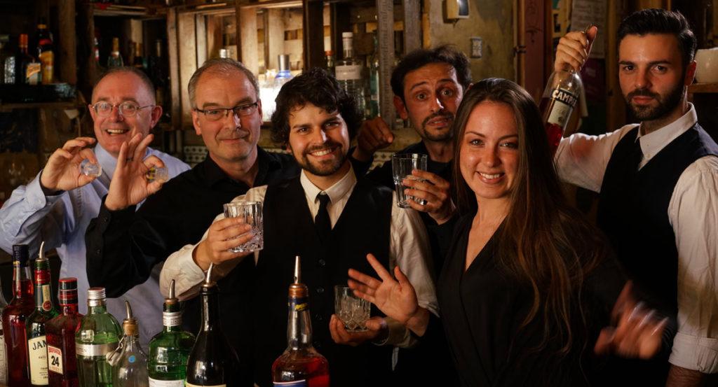 David Jonas Frei, Jorgos Stathis Moderation Barkeeper Katrin Kasper, Bodo,