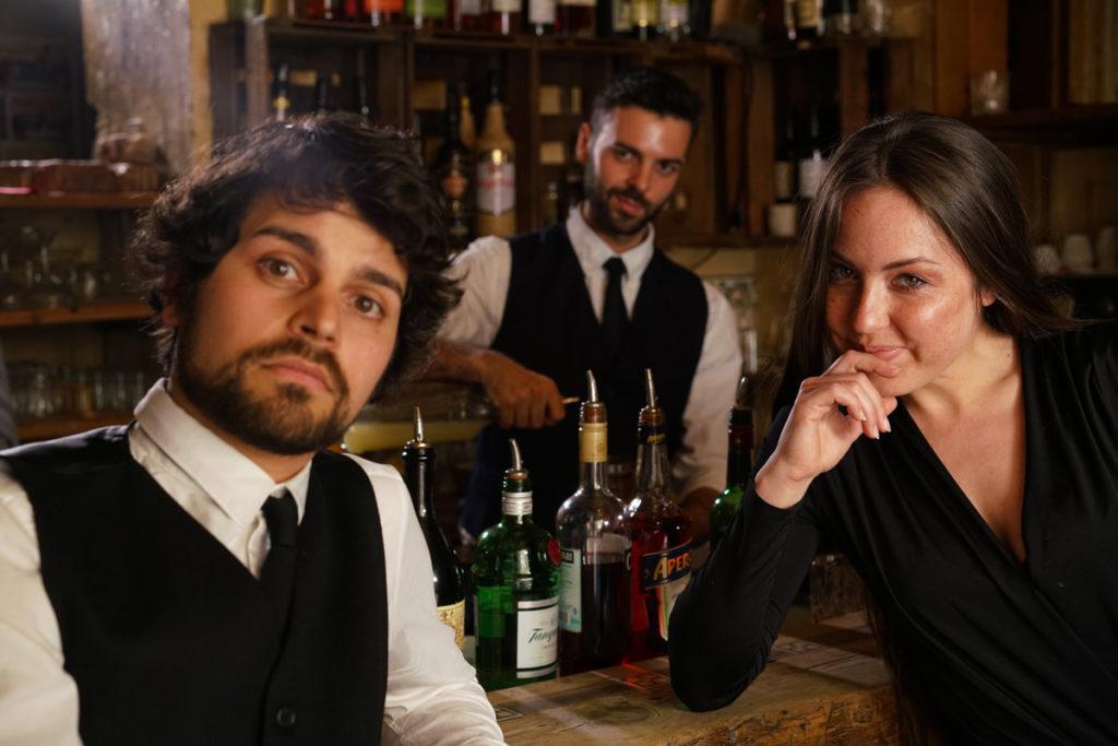 David Jonas Frei, Jorgos Stathis Moderation Barkeeper Katrin Kasper