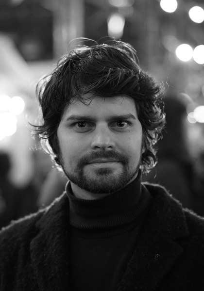 Filmproduzent David Jonas Frei